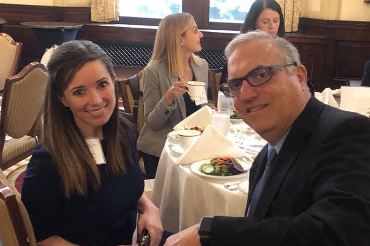 Global Ties U.S. CEO Katherine Brown and Former WorldChicago Board Chair Joe