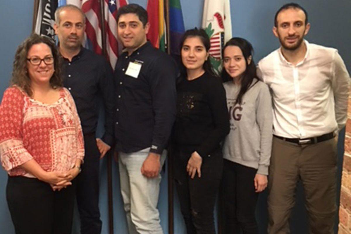 Open World delegation from Azerbaijan