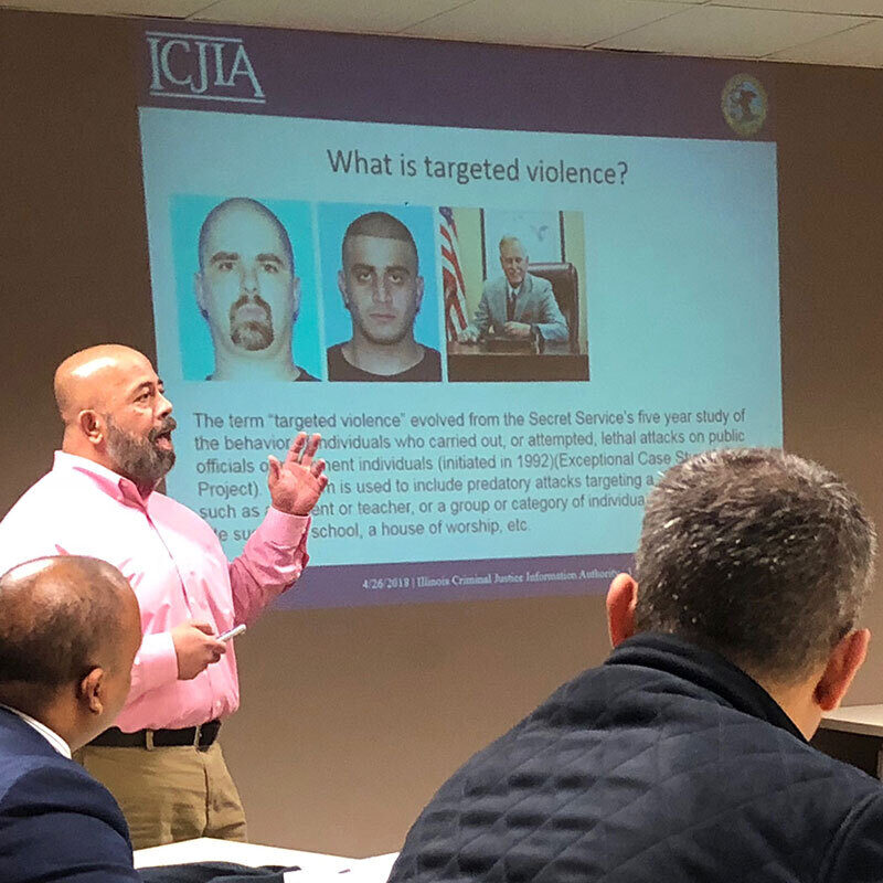 Illinois Criminal Justice Information Authority hosts a delegation of the International Visitor Leadership Program