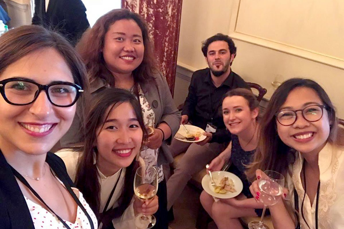 Fellows at the Spring Diplomacy Luncheon in May 2018