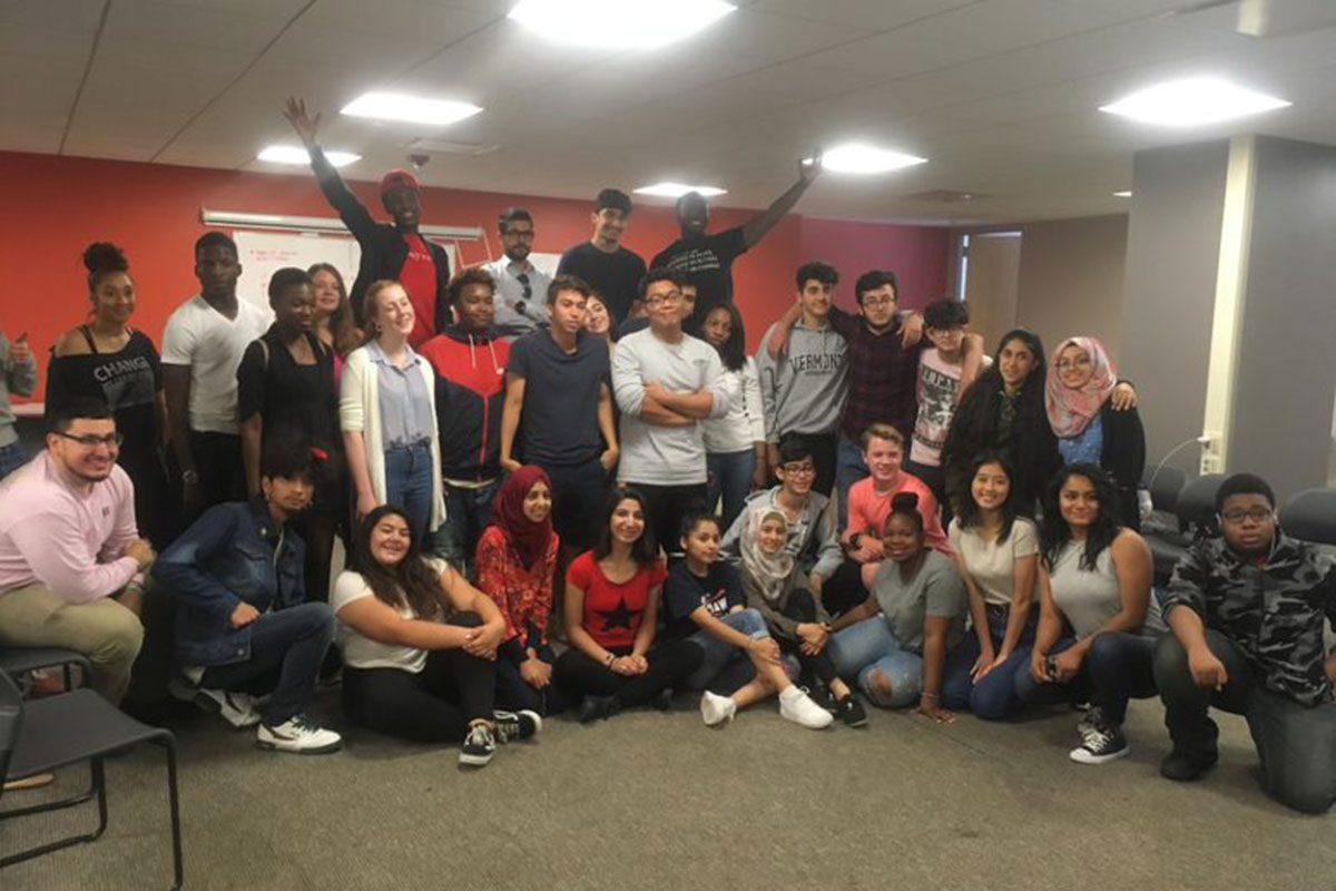 International youth program workshop